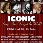 Playing at Creatively United for the Planet on April 25th, 2014